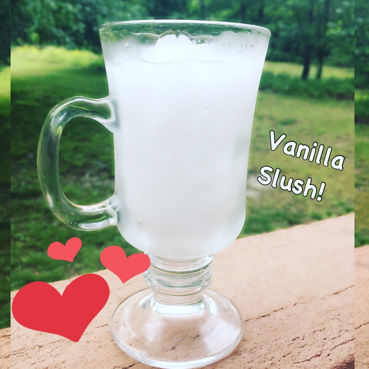 Vanilla Slush Drink